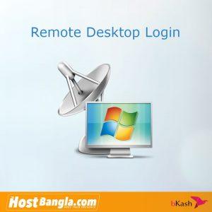Remote Desktop login